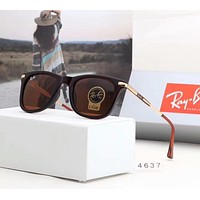 RayBan Ray-Ban Trending Women Men Stylish Sun Shades Eyeglasses Glasses Sunglasses Coffee I-A-SDYJ