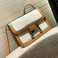 Hermes New fashion high quality shoulder bag women Brown
