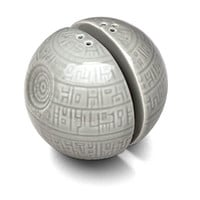 Death Star Salt and Pepper Shakers