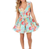 Seasons In The Sun Floral Dress   Monday Dress Boutique