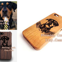 Custom Cherry Wood iPhone 5s Case for Mayra Hernandez