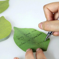 Leaves notes paper _ style leaves notes paper natural style 50pcs*3 [10068542028]