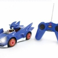 Sonic and Sega All Stars Racing Remote Controlled Car - Sonic The Hedgehog