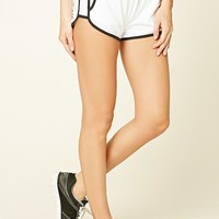 Active Striped Dolphin Shorts