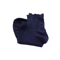 Style & Co. Womens Light-Weight Ruffled Top Ankle Socks