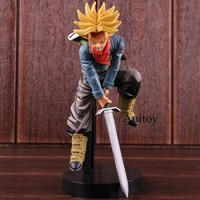 Dragon Ball SUPER Warriors Super Saiyan Trunks Figure Action PVC Collectible Model Toy