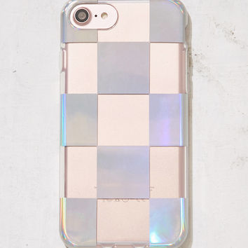 Recover Check Me Out Metallic iPhone 6/7 Case   Urban Outfitters