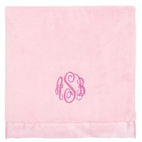 Coral Fleece Plush Blanket-Pastel Pink