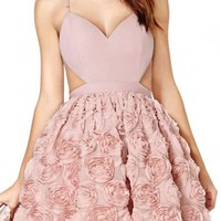 Beauteous Rosette Cami Dress - OASAP.com