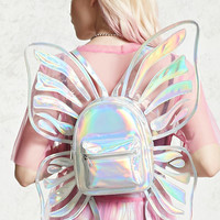 Holographic Butterfly Backpack