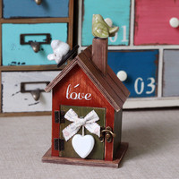 Vintage Pottery Music Box Birthday Gifts Decoration Accessory Box [6282818438]