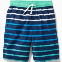 Printed Swim Trunks for Boys | Old Navy