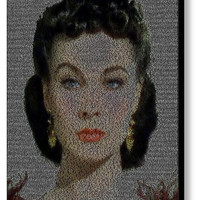 Scarlett O'Hara Gone With The Wind Quotes Mosaic INCREDIBLE