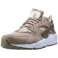 Mens Nike Air Huarache Synthetic & Textile Tan Branded Footwear Shoes Trainers