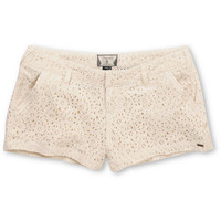 Volcom Girls Frochickie Laced Cream 2.5 Shorts