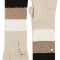 kate spade new york colorblock stripe gloves | Nordstrom