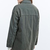 "BDG – Army-Jacke ""The Outback"" aus Leinen - Urban Outfitters"
