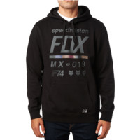 District 2 Fox Racing Men's Pull Over Fleece Hoodie
