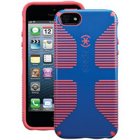 SPECK SPK-A0486 iPhone(R) 5/5s CandyShell(R) Grip Case (Harbor Blue/Coral Pink)