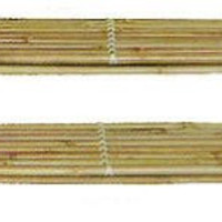 """Bamboo Shoe Rack Set of 2 (Natural) (31""""L x 11""""w x 12""""H)"""