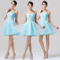 Free Ship New Short Prom Dress Cocktail Evening Party Homecoming Wedding Dresses