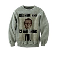 Big Brother Is Watching You Vintage Poster Sweatshirt