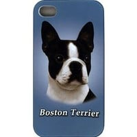 iPhone Dog Cover Protective Case for iPhone 4/4s - Boston Terrier