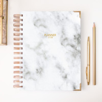 2018 Classic Planner – Marbled