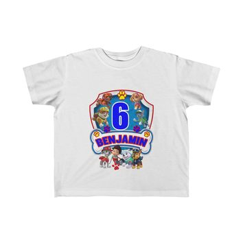 Paw Patrol Kids Birthday Shirt - Personalize This With Different Age and Name