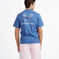 Lacrosse Whale Graphic T-Shirt