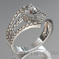 Vintage Diamond Engagement Rings - Classic Antique Style Rings - Jtelsen
