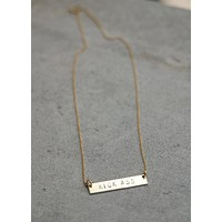 The Betty Collection: Kick Ass necklace