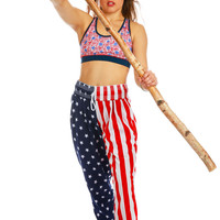 Uncle Sam's American Flag Knockout Pants