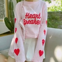 Kawaii Heart Breaker T-shirt