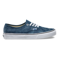 Chambray Leaves Authentic | Shop Classic Shoes at Vans
