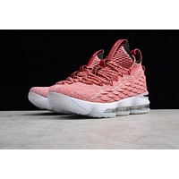nike lebron 15 pink men basketball shoes 897648 600
