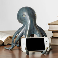 SPI Home Collection Octopus Cellphone Holder with Bluetooth Speaker