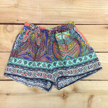 UNDER THE TUSCAN SUN SHORTS IN MINT