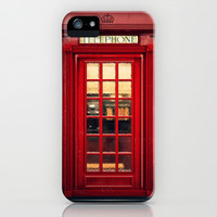 Magical Telephone Booth iPhone & iPod Case by Emiliano Morciano (Ateyo)