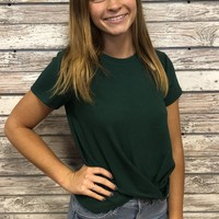 Back To School Top- Green