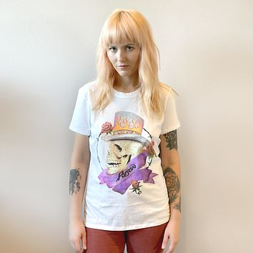 Poison Skull and Roses Tee