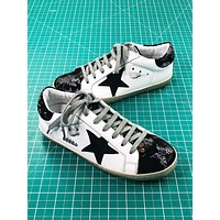 Ggdb Golden Goose Uomo Donna White Black Sneakers Shoes