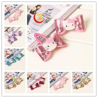 2015 hello kitty barrettes for children baby hair clips decorations for girls hair clip hairpins accessories headwear headdress