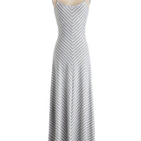 Extra Points Dress in Grey