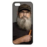 Duck Dynasty Uncle Si Iphone 4 case iphone 4s cover
