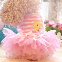 Pet Dress for Yorkshire Chihuahua (small dogs)