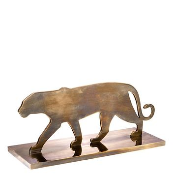 Brass Decorative Object | Eichholtz Panther Silhouette