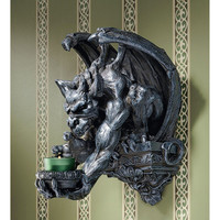 Park Avenue Collection Whitechapel Manor Gargoyle Wall Sconce