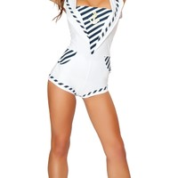 Blue Anchors Away Sailor Costume