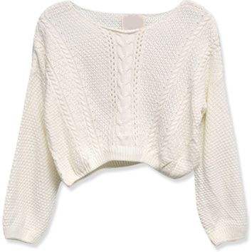 Must-Have Cropped Sweater